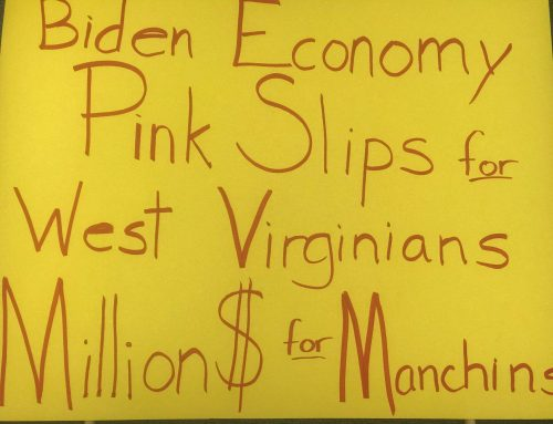 WVGOP Protest Gayle Manchin's Swearing-In of $160K+ Biden Job